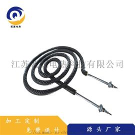 生产发热均匀电加热管 散热性能好圆形翅片电加热管