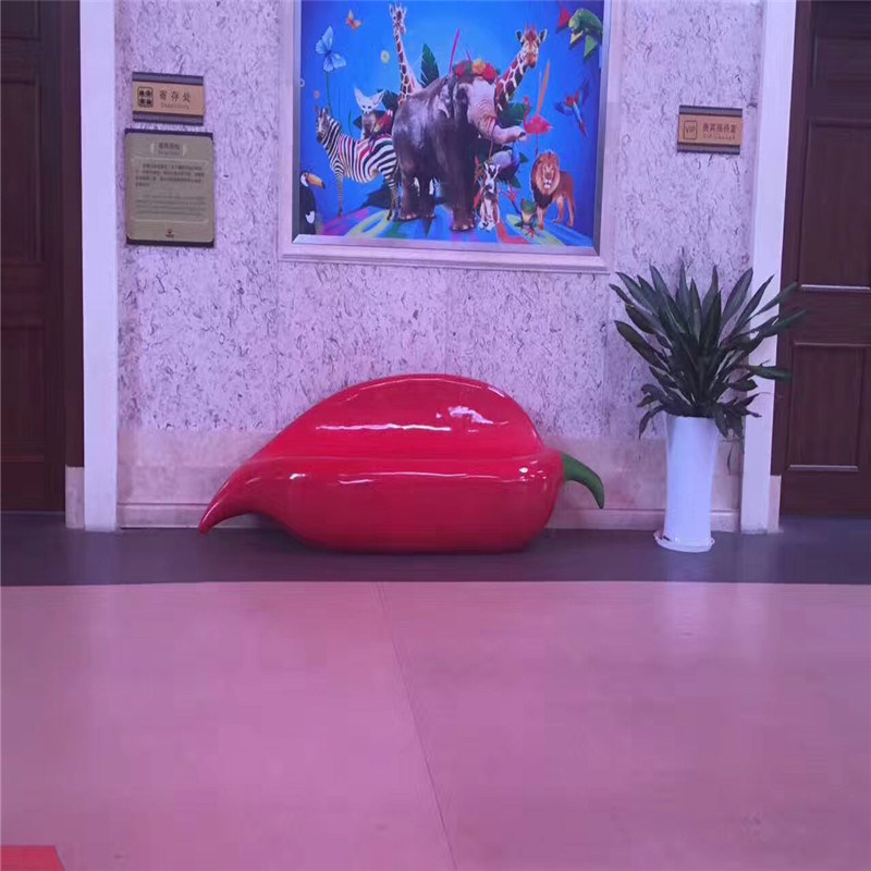 供应广州卡通座椅雕塑 公园玻璃钢卡通座椅雕塑