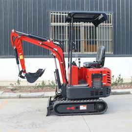华科农用多功能小型挖掘机 无尾型轮式小挖机