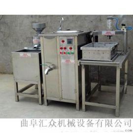 内脂豆腐机 七彩全自动豆腐机 六九重工 家用豆浆豆