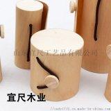 山东实木包装盒礼品盒礼物包装树皮盒眼镜盒