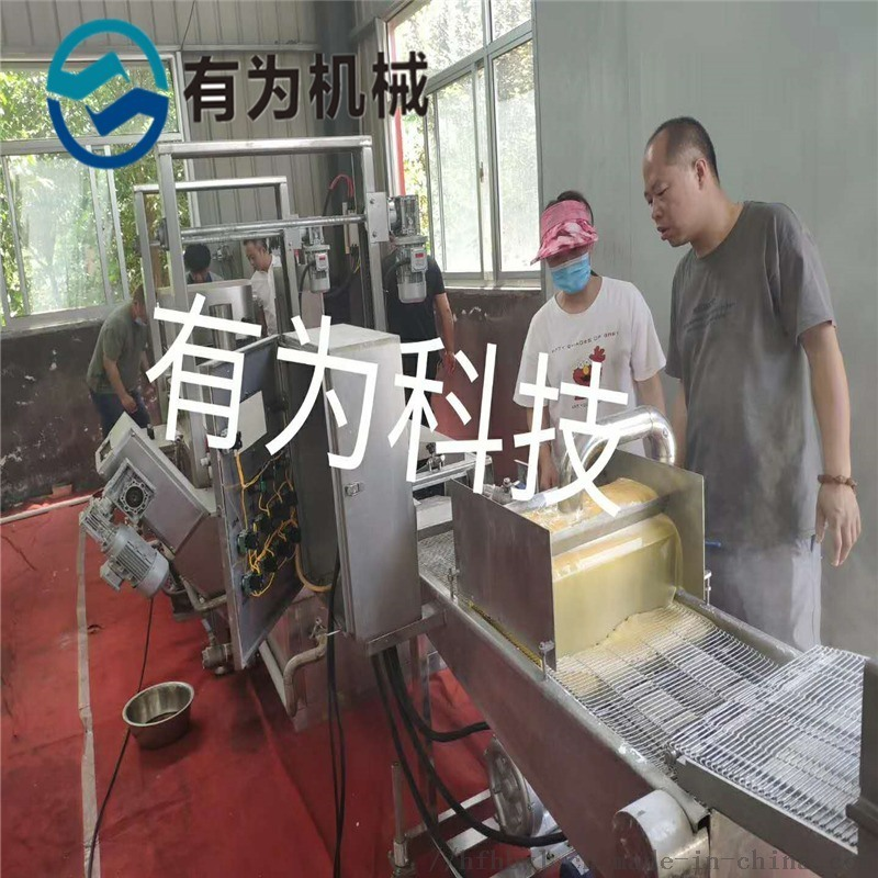 四川长林小酥肉上浆机 肉条挂浆裹糊机 厂家裹浆机