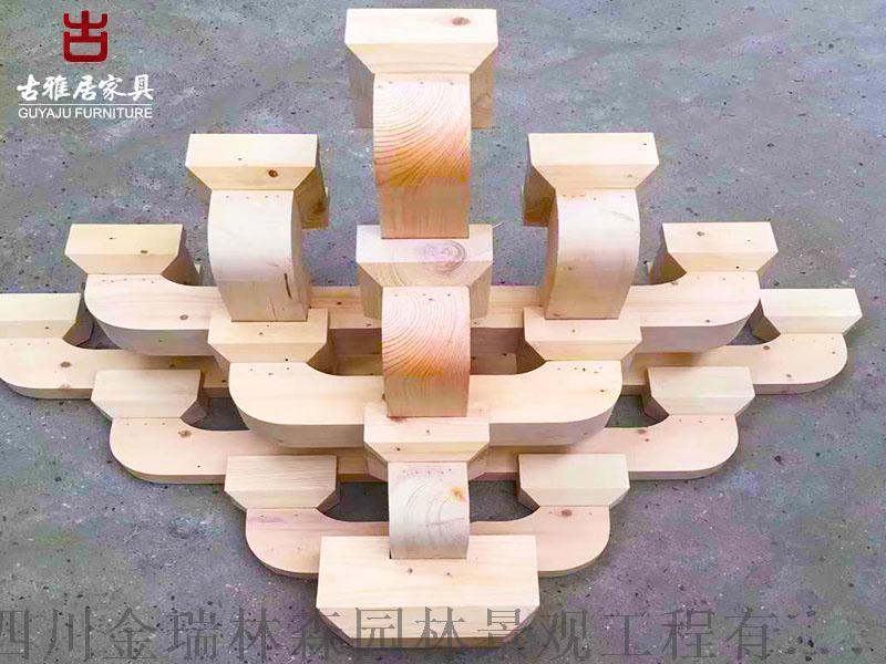 成都撑弓,斗拱厂家实木斗拱定制加工