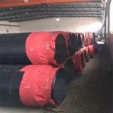 随州 鑫龙日升 聚氨酯钢塑复合保温DN100/108黑皮子聚氨酯保温管