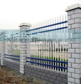 本厂直销pVC蓝白色草坪护栏 公路锌钢草坪护栏围栏 花坛草坪