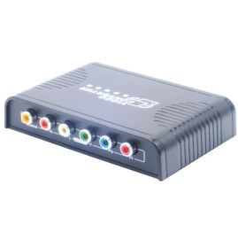 HDMI转色差分量HDMI TO YPBPR高清视频转换器