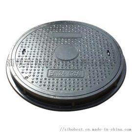 淄博拜斯特复合圆形弱电井盖雨水井盖树脂圆形污水井盖