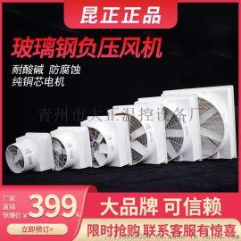 玻璃钢负压风机工业排气扇大功率强力抽风机工厂排气扇