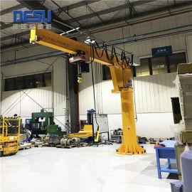 厂家直销悬臂吊,生产车间工位旋臂起重机