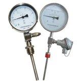 帶熱電偶/熱電阻遠傳雙金屬溫度計