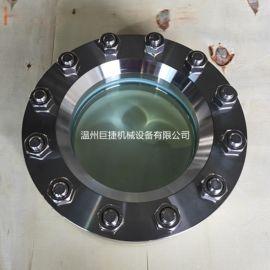 DN150带颈式烧结玻璃视镜 压力容器烧结视镜