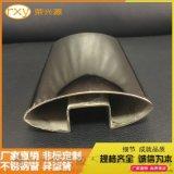 拉絲不鏽鋼異型管,304不鏽鋼方管凹槽管