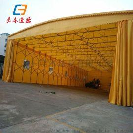 广州越秀活动雨棚大排档专用伸缩雨棚收缩雨棚定做