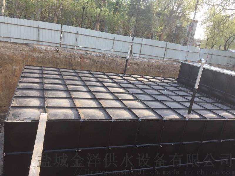 地埋式不鏽鋼箱泵一體化運轉方式