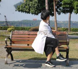 襄阳户外公园椅-防腐木公园椅-小区广场休息椅