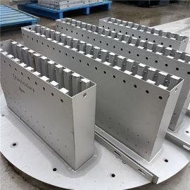 酸洗钝化处理金属槽盘分布器常压塔槽盘液体分布器
