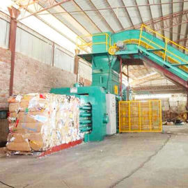 全自动废纸打包机 液压打包机 东莞打包机厂家