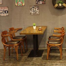 实木简约餐桌椅定做,众美德餐厅家私,西餐厅家具厂家