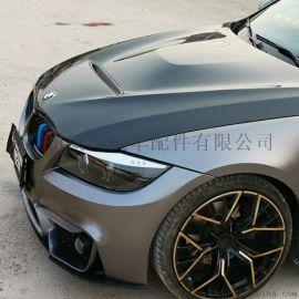 宝马3系F30改GTS款引擎机盖