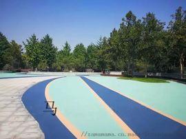 黑色沥青路面改 沥青改色涂装学校道路沥青路面改色