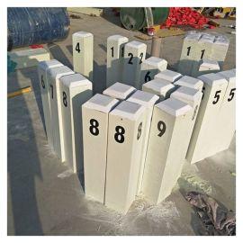 供水标志桩 玻璃钢标志桩厂家 霈凯标志桩