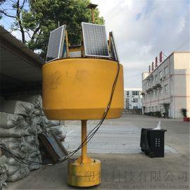 内河航标浮标浮漂有电缆标横流浮标风讯信号杆