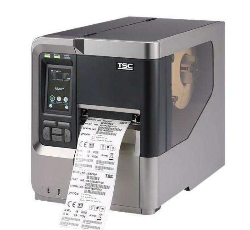 条码标签打印机 华南TSCMX240P打印机