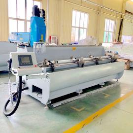 汽车配件铝型材数控加工设备铝合金长条型材三轴钻铣床