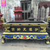 铸铁圆形平口香炉厂家,温州昌东长方形平口香炉厂家