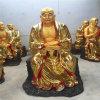 銅雕十八羅漢佛像,昌東銅雕佛像廠家,貼金銅十八羅漢