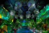 陝西全息宴會廳,西安全息5D婚宴廳,集影科技