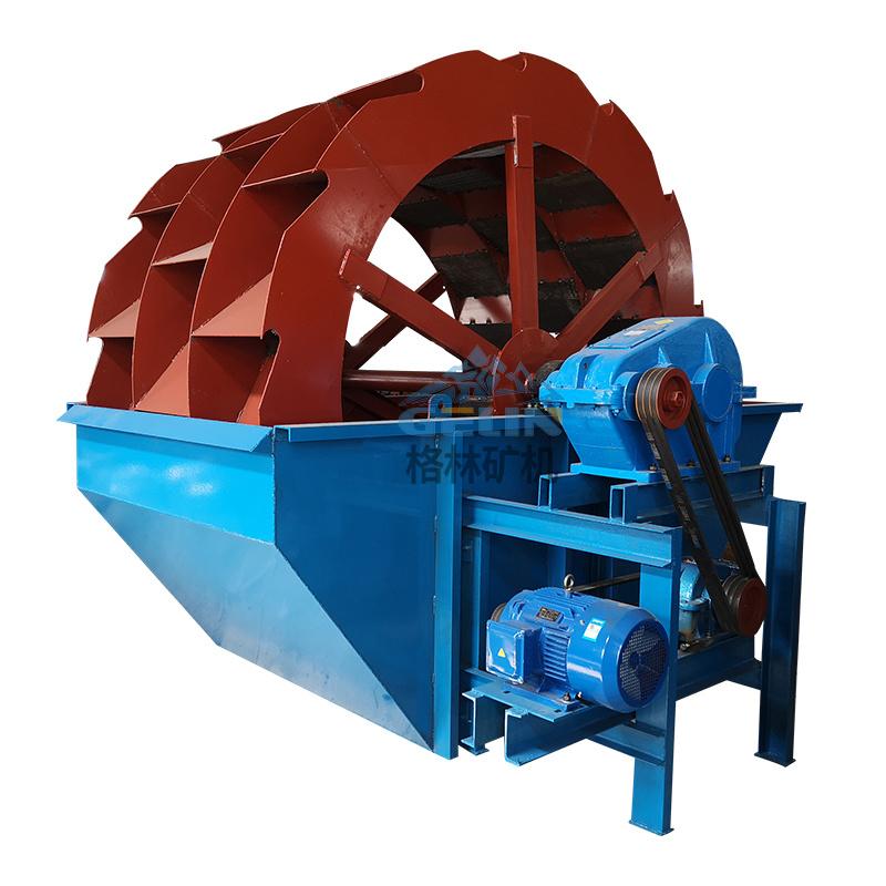大型选矿用轮斗洗砂机 叶轮式泥沙洗砂机