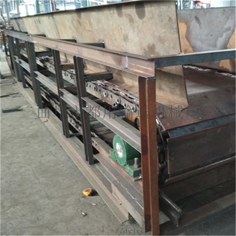 链板机配件 纸箱板链输送机 都用机械重型链板式输送