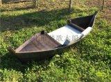 天津出售客廳沙發木船擺件戶外景觀裝飾船