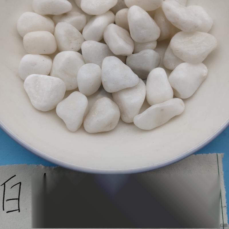 长治白色胶粘石   永顺白色砾石大量生产