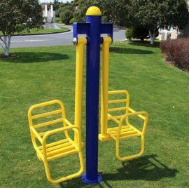 厂家直销低价销售 双人儿童秋千 小区户外健身器材