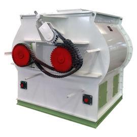 双轴桨叶式拌料机小型预混料混合机 粮食拌料机