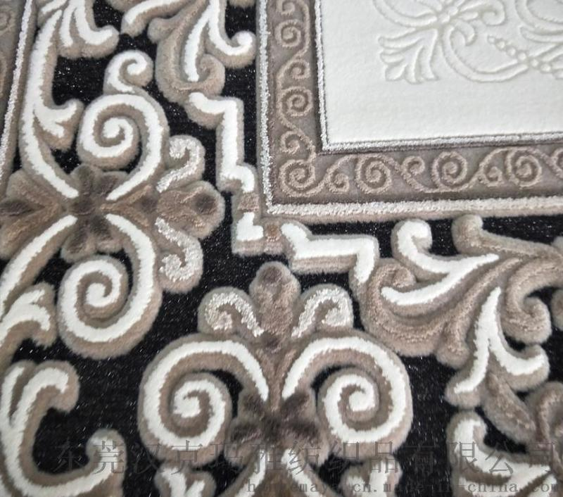 进口地毯厂家现货销售凹凸感欧式客厅地毯一件代发