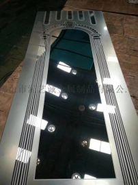 会所室内装饰不锈钢蚀刻板 KTV电梯装饰蚀刻板