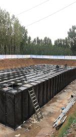抗浮地埋式箱泵一体化消防泵站组成形式