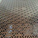 外墙穿孔铝板装饰网优美的金属线条