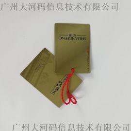 服装吊牌定做衣服标签logo定制女装吊卡