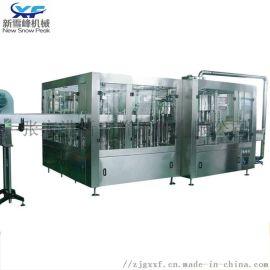 啤酒生产设备 全自动玻璃瓶啤酒三合一生产线
