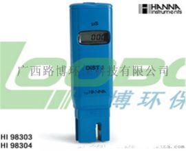 废水的电导率和总固体溶解度使用路博笔式电导率仪