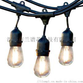 **热销灯串ST45、15米15头、彩盒中性包装