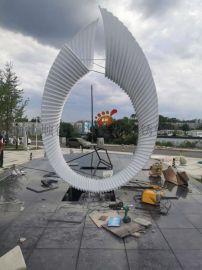 定制广场水池景观雕塑双曲面不锈钢雕塑异形不锈钢摆件