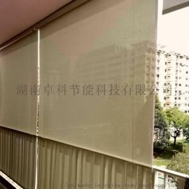 厂家直销阳台钢丝导向遮阳挡雨卷帘室外遮阳耐腐蚀卷帘