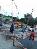 河北承德公园儿童游乐设备钢架蹦极单人小蹦极厂家