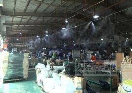 仓库加湿设备 智能喷雾加湿系统 车间除静电