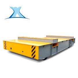 大型升降平台平板小车 10吨遥控无轨电动运输平移车